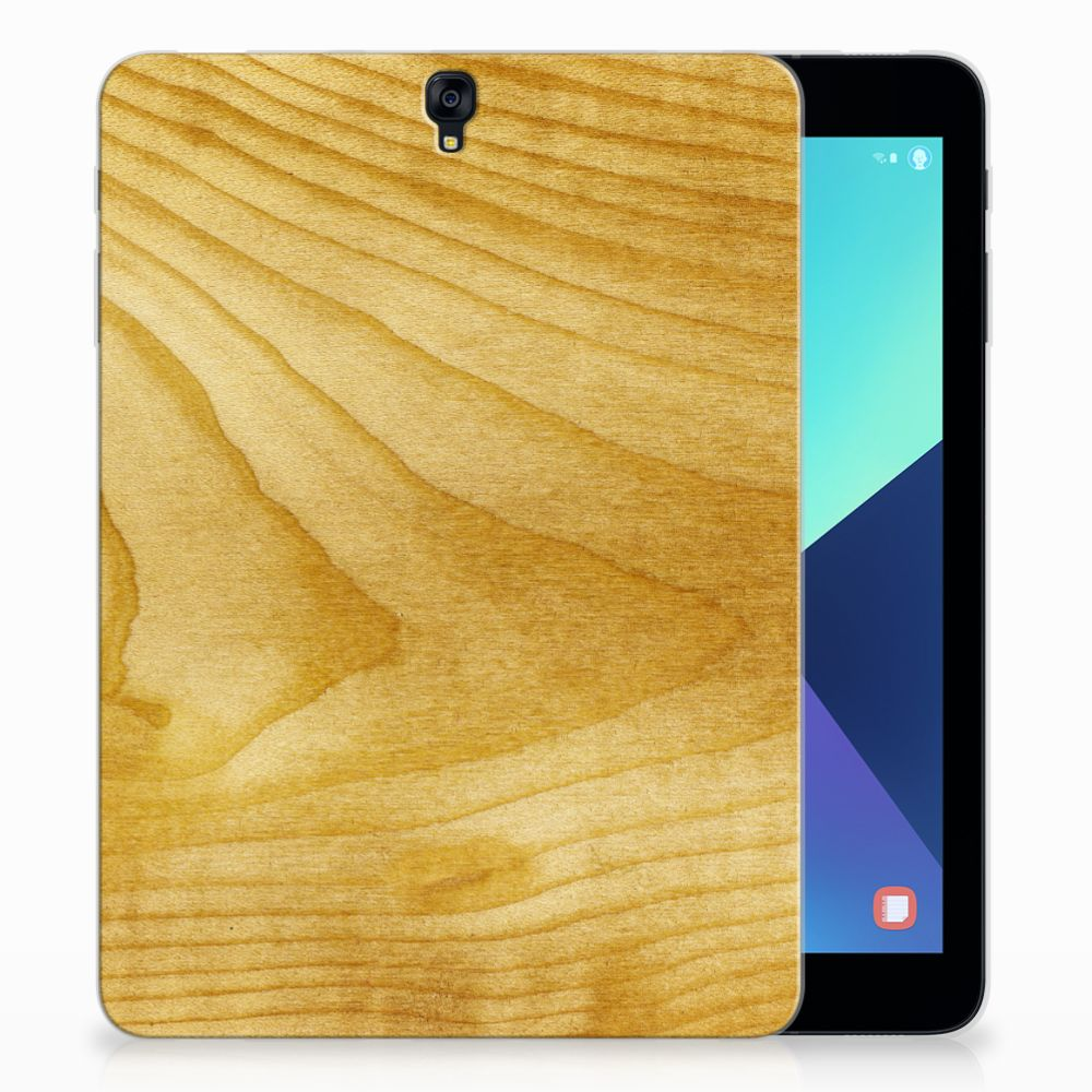 Samsung Galaxy Tab S3 9.7 Uniek Tablethoesje Licht Hout