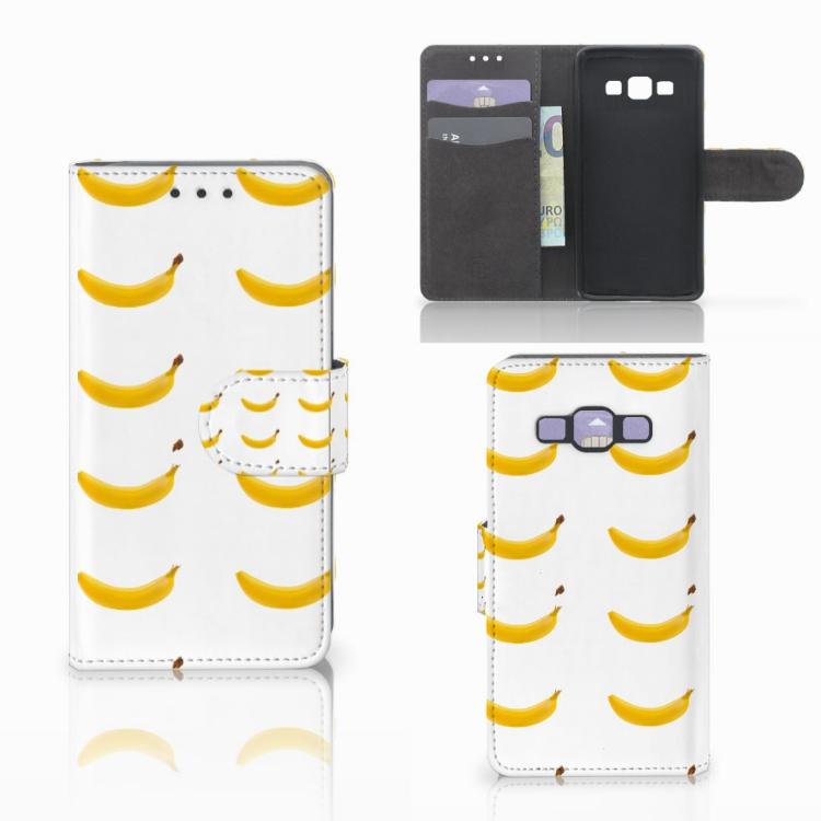 Samsung Galaxy A3 2015 Book Cover Banana