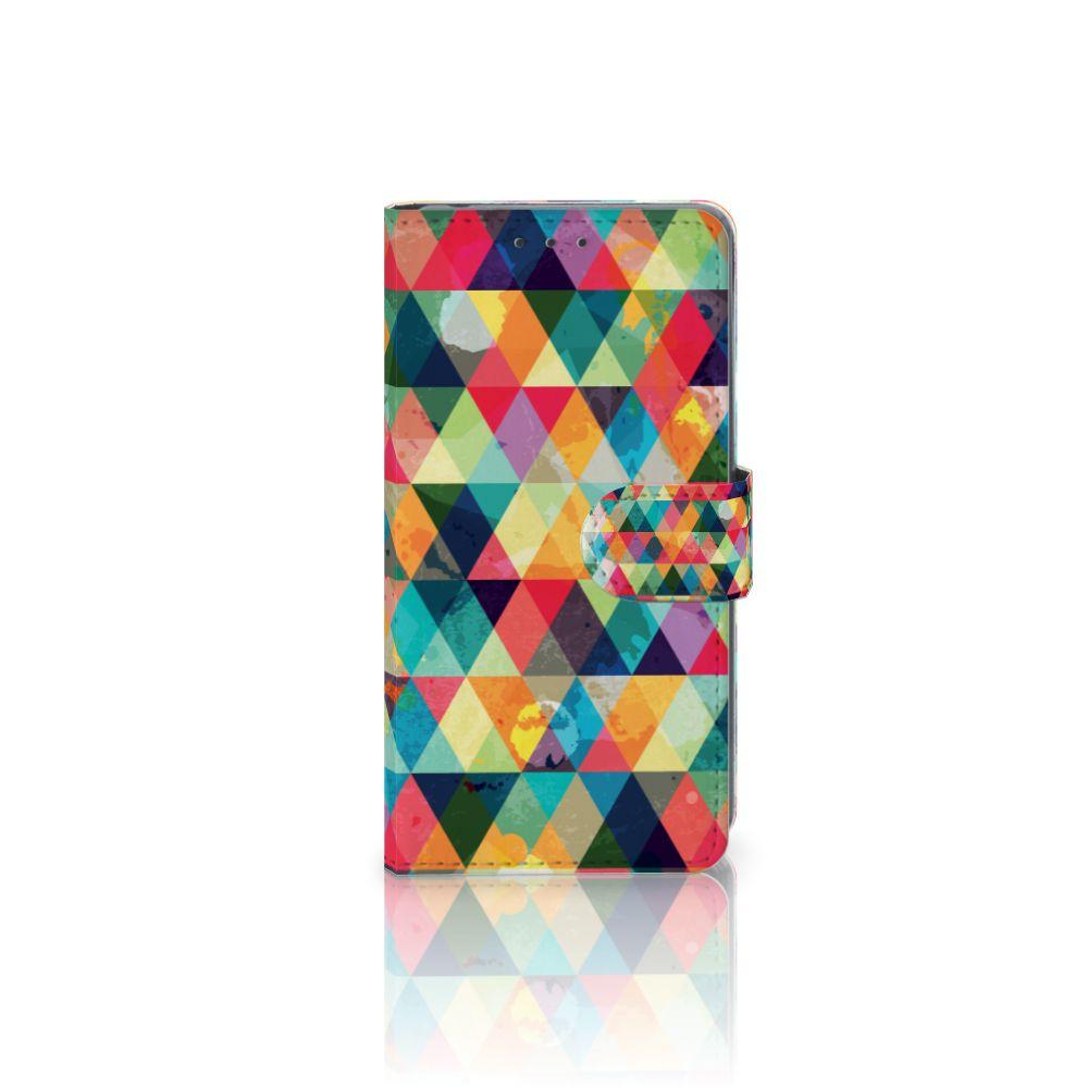 Sony Xperia Z2 Uniek Boekhoesje Geruit
