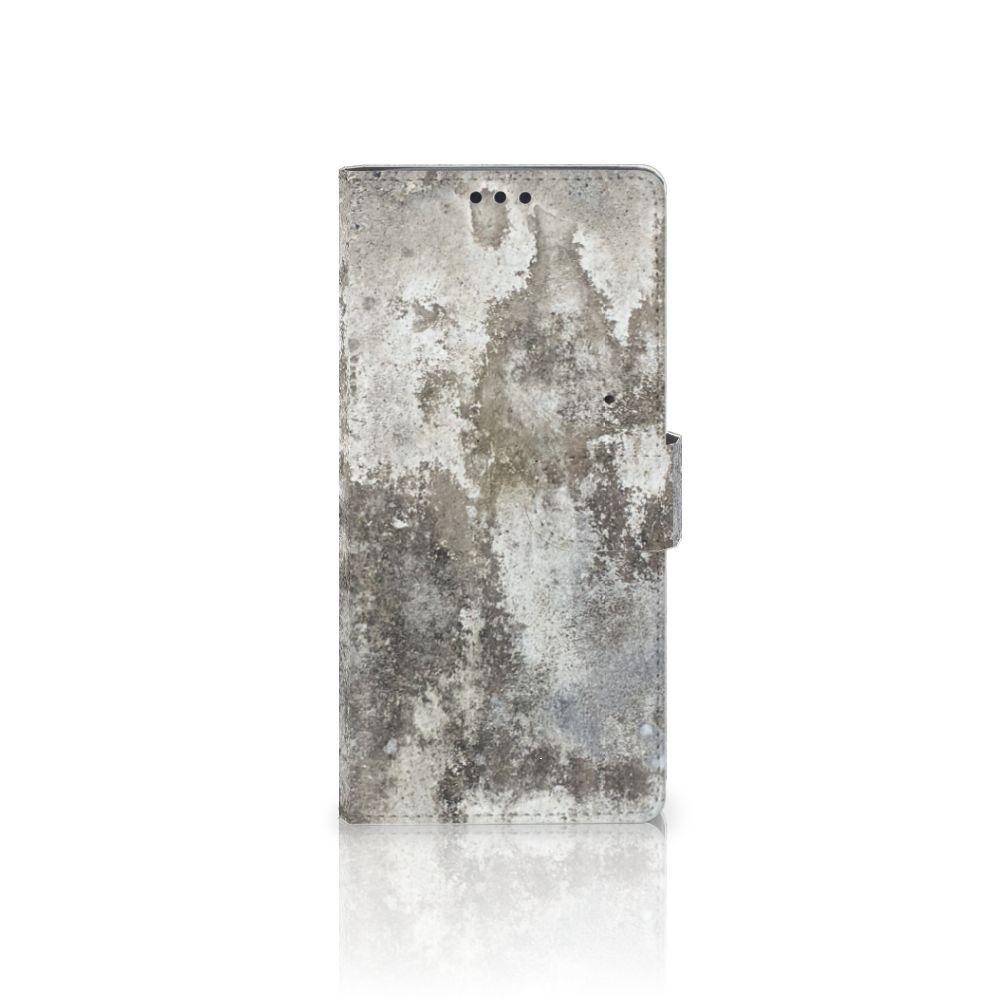 Sony Xperia XA Ultra Boekhoesje Design Beton