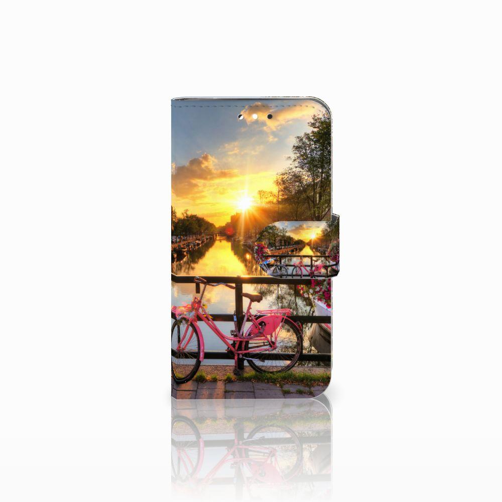 LG G3 S Uniek Boekhoesje Amsterdamse Grachten