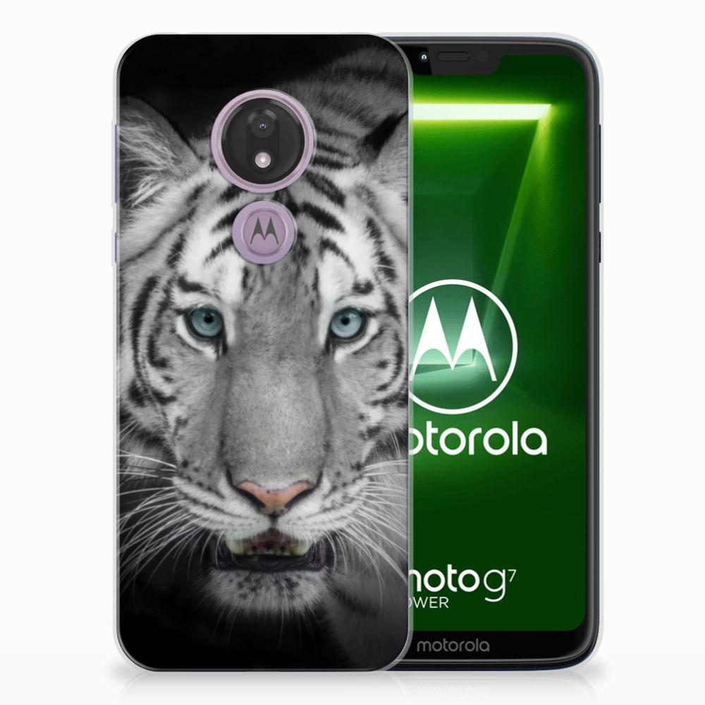 Motorola Moto G7 Power TPU Hoesje Tijger