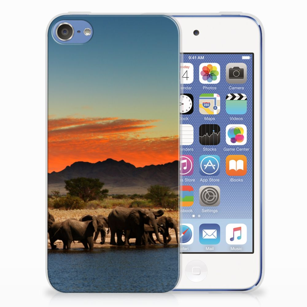 Apple iPod Touch 5 | 6 Leuk Hoesje Olifanten
