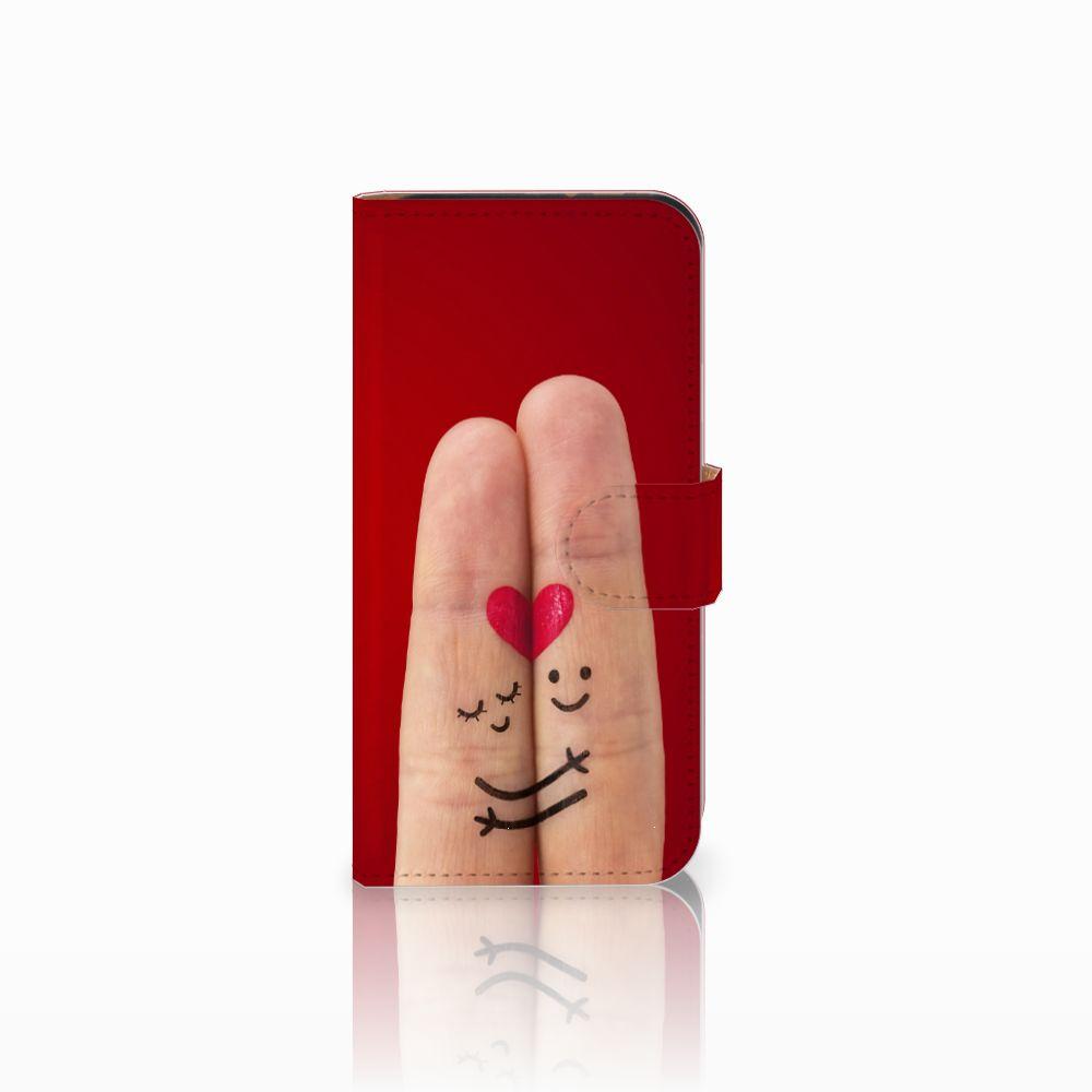 HTC One Mini 2 Uniek Boekhoesje Liefde