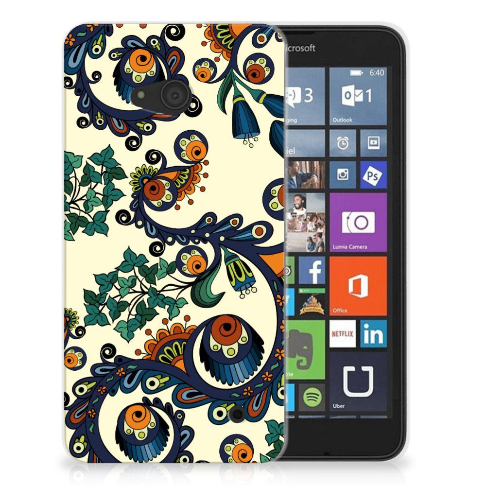 Siliconen Hoesje Microsoft Lumia 640 Barok Flower