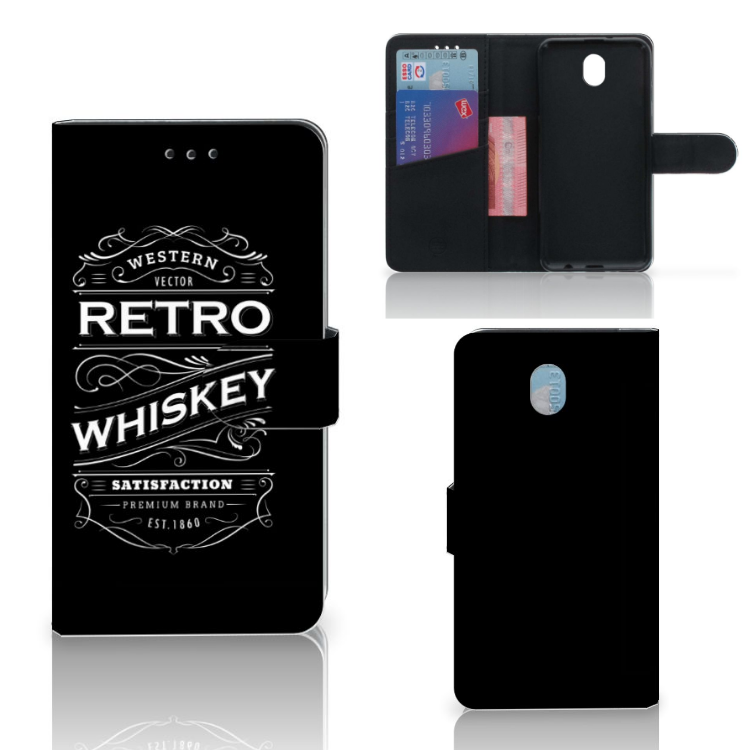 Samsung Galaxy J7 2017 | J7 Pro Book Cover Whiskey