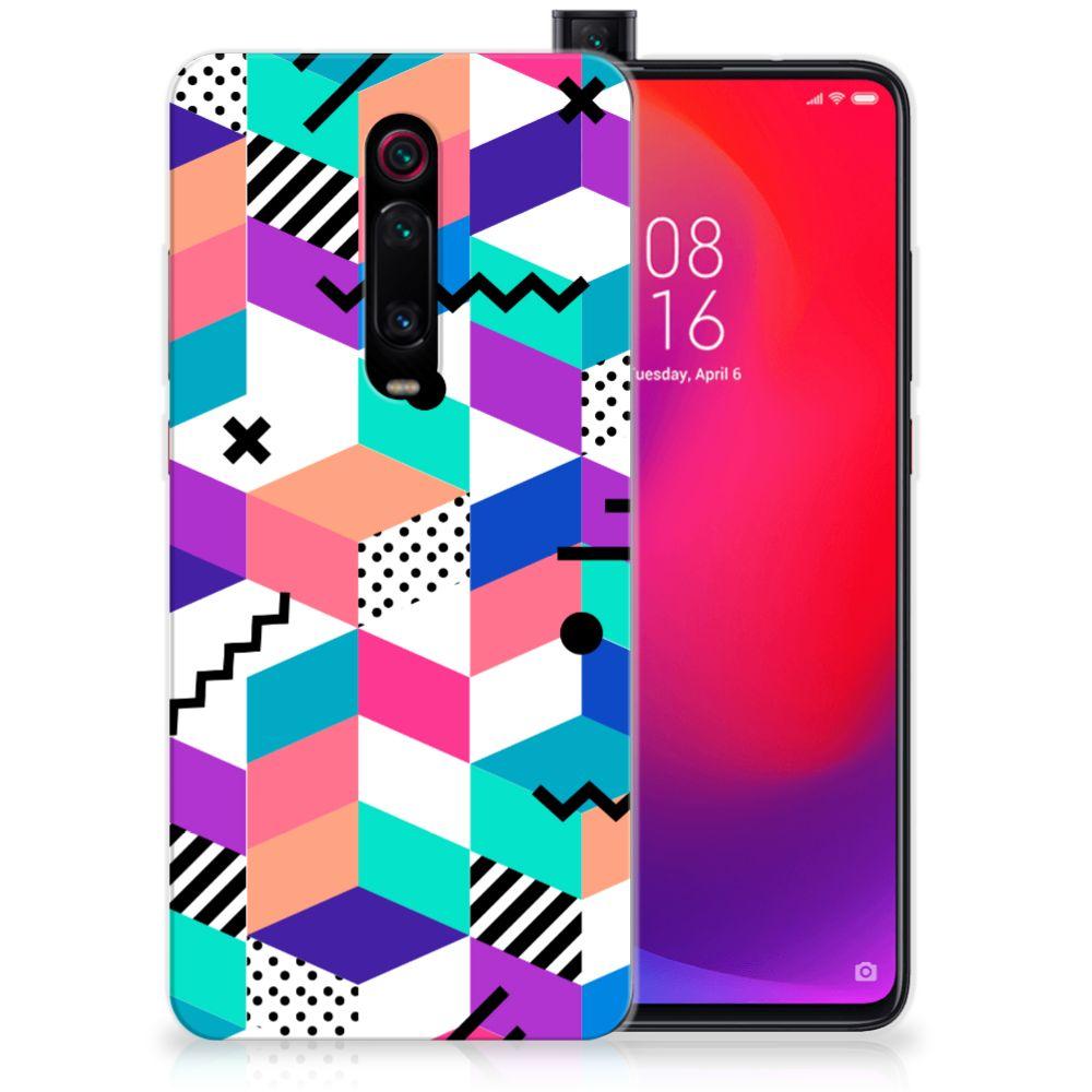 Xiaomi Mi 9T Pro   Redmi K20 Pro TPU Hoesje Blokken Kleurrijk