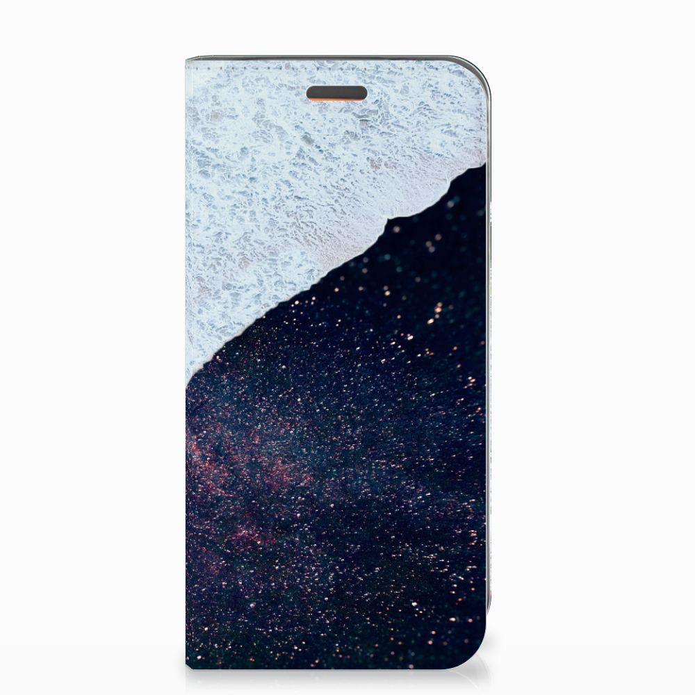 Motorola Moto E5 Play Stand Case Sea in Space