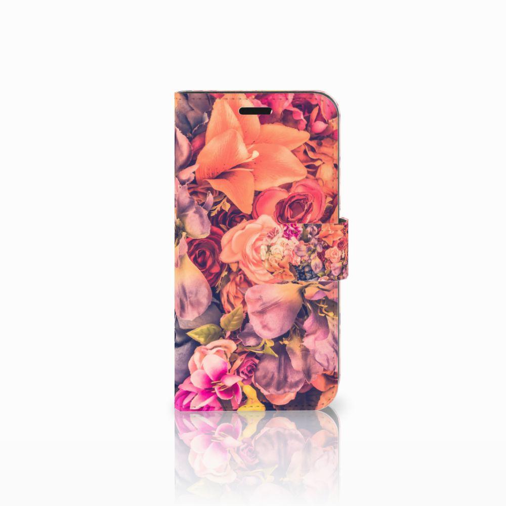Huawei Nova Boekhoesje Design Bosje Bloemen
