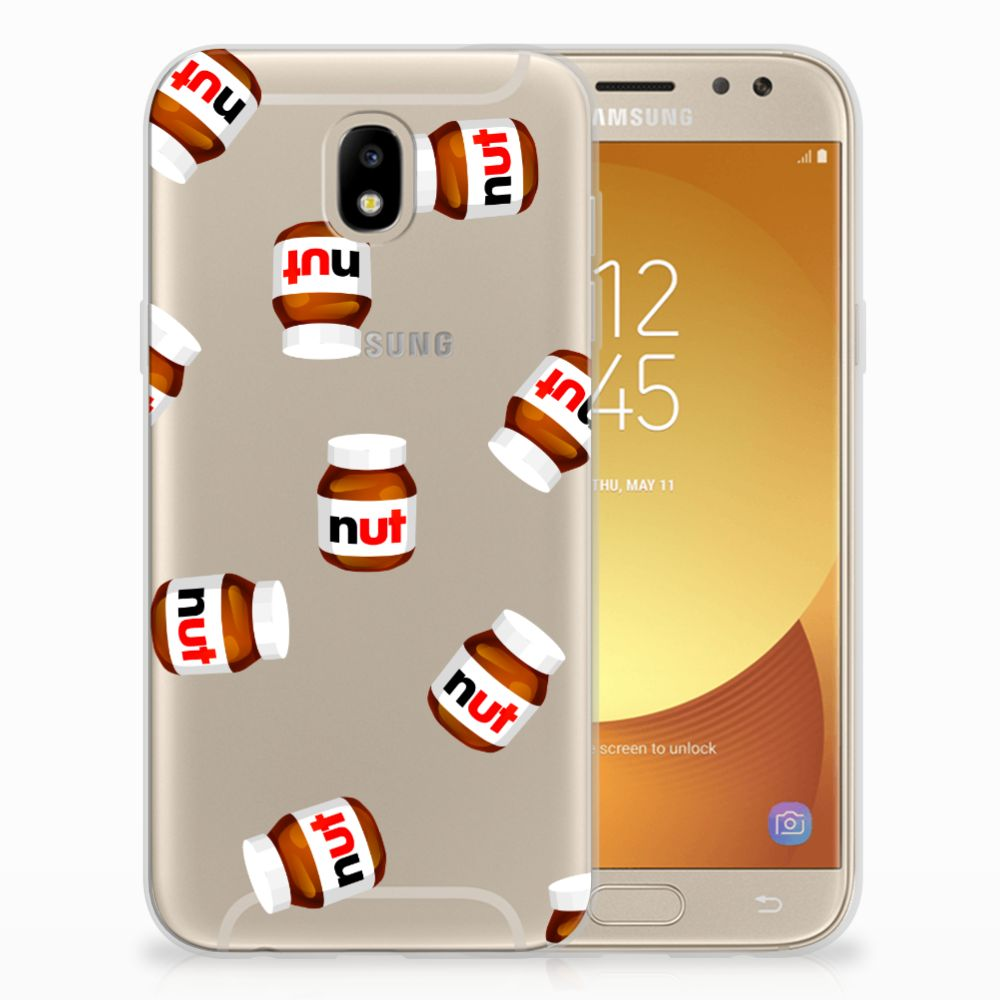 Samsung Galaxy J5 2017 Siliconen Case Nut Jar