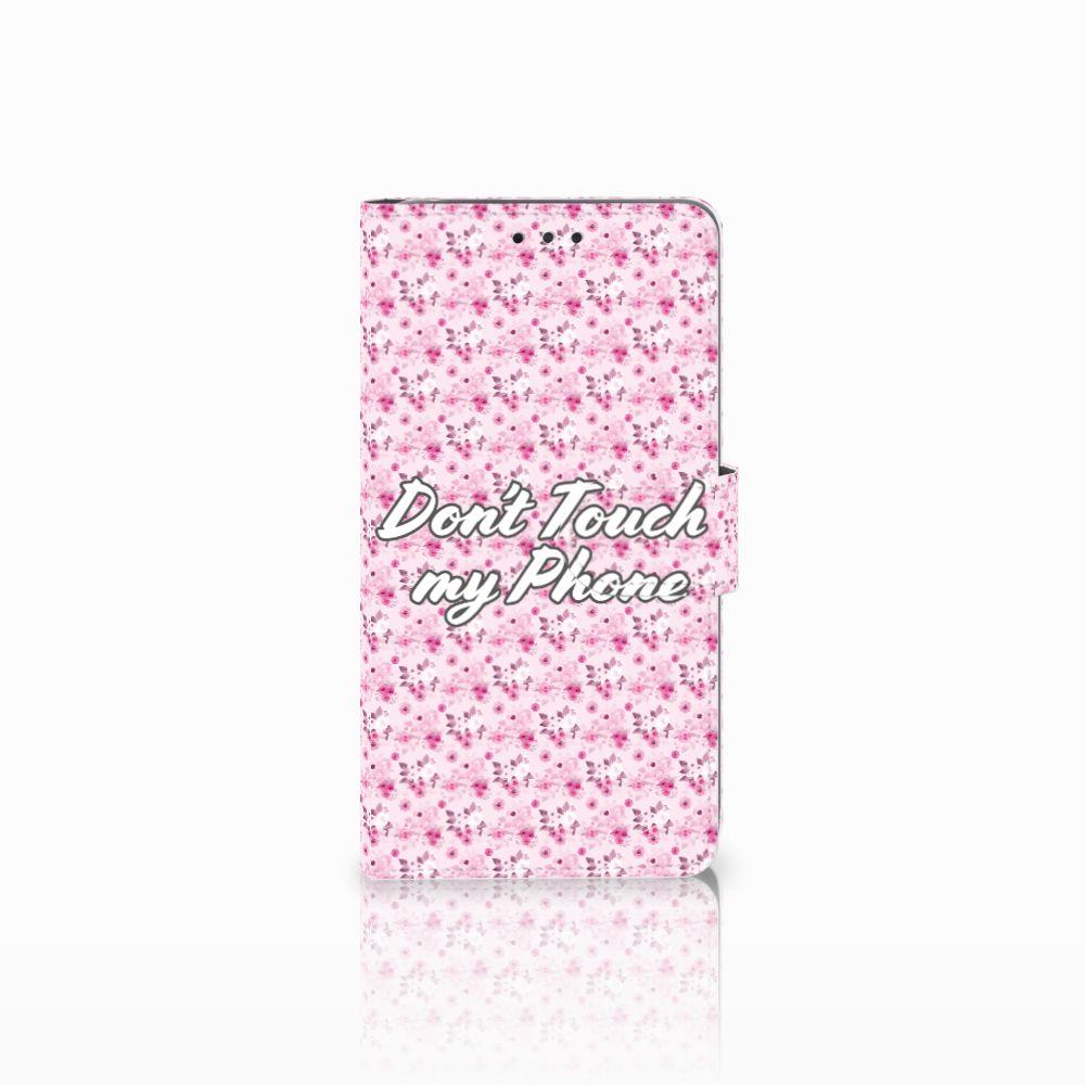 LG G4 Uniek Boekhoesje Flowers Pink DTMP