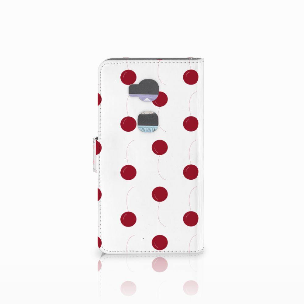 Huawei Honor 5X Book Cover Cherries