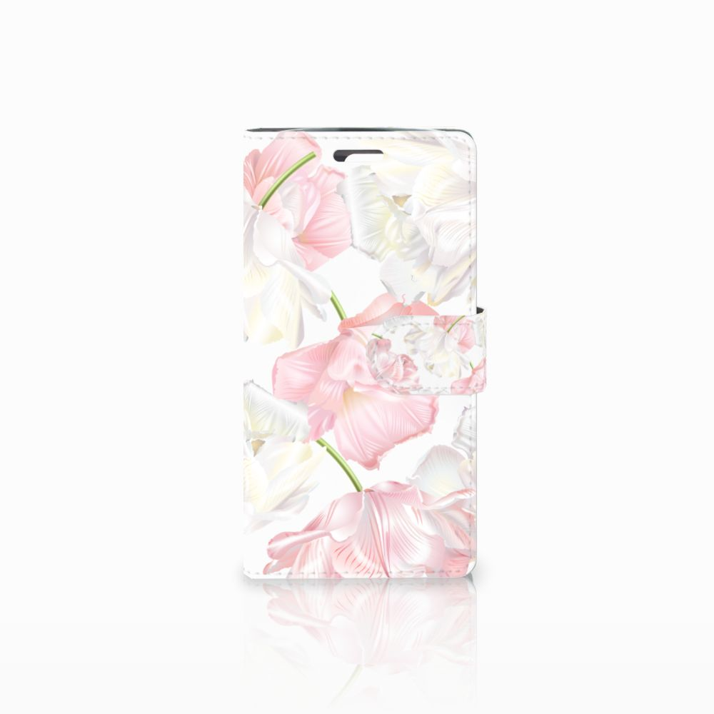LG K10 2015 Boekhoesje Design Lovely Flowers