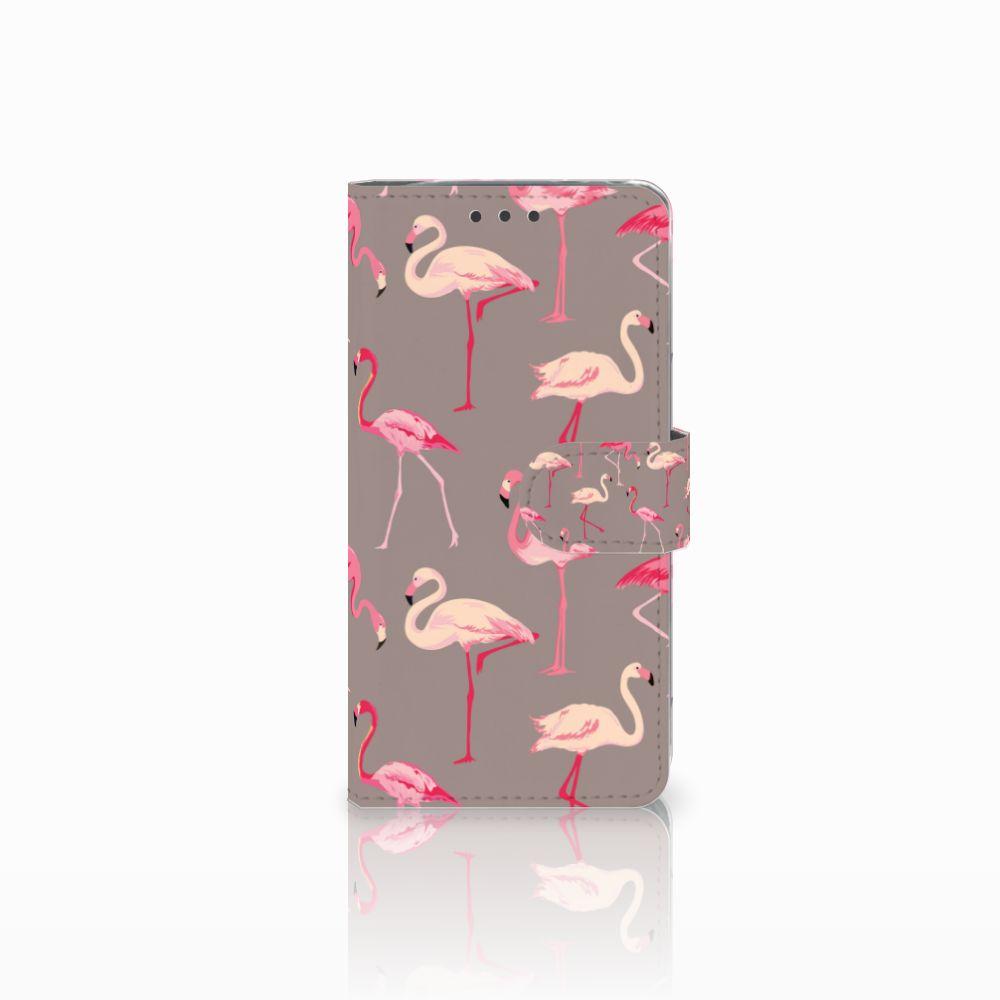 LG G5 Uniek Boekhoesje Flamingo