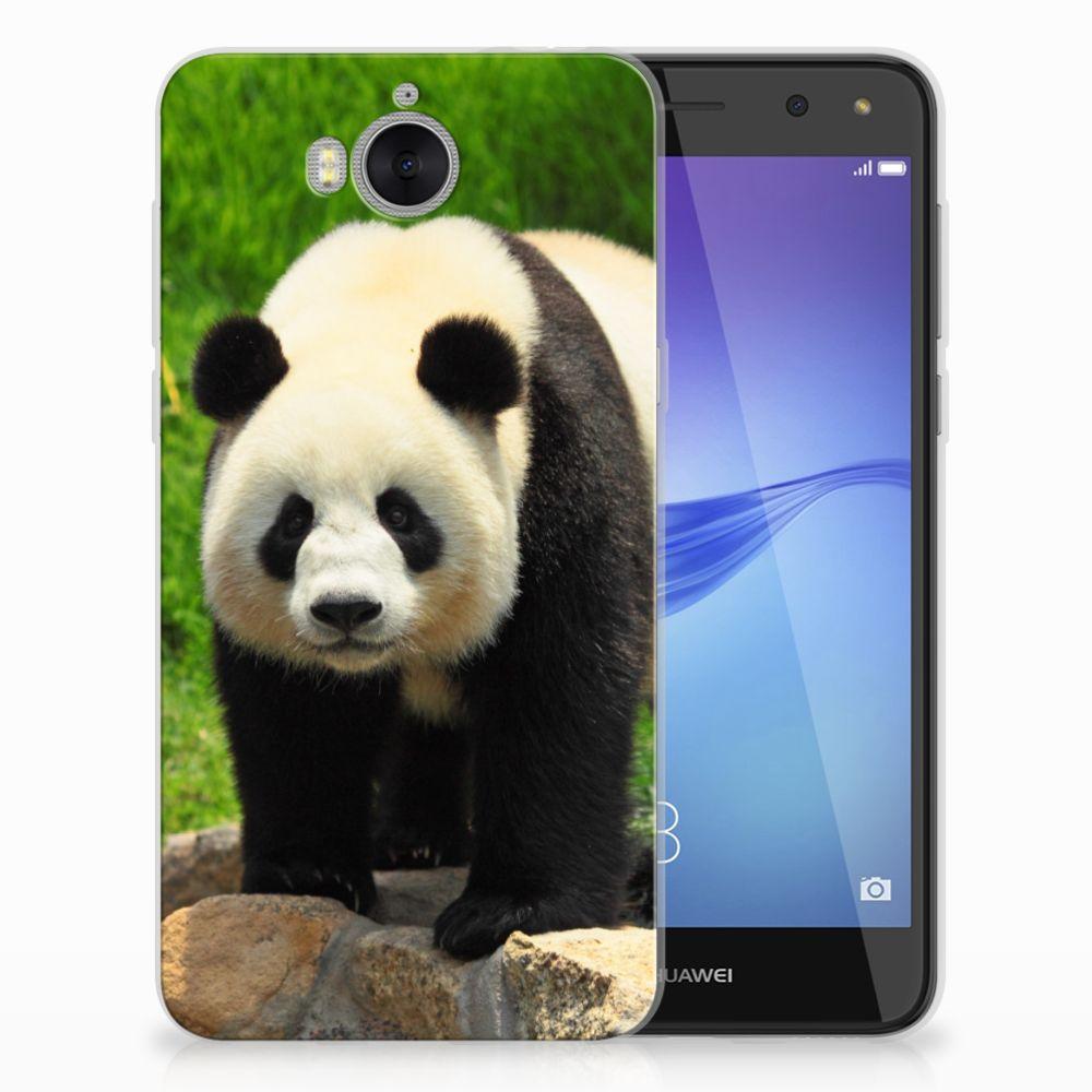 Huawei Y5 2017 | Y6 2017 TPU Hoesje Panda