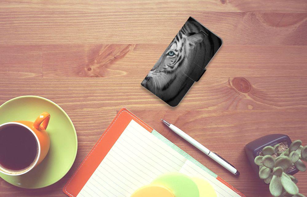 Acer Liquid Z530 | Z530s Telefoonhoesje met Pasjes Tijger
