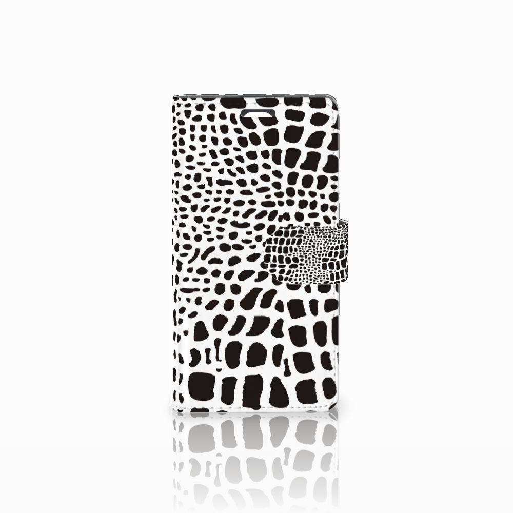 LG Magna | G4C Telefoonhoesje met Pasjes Slangenprint