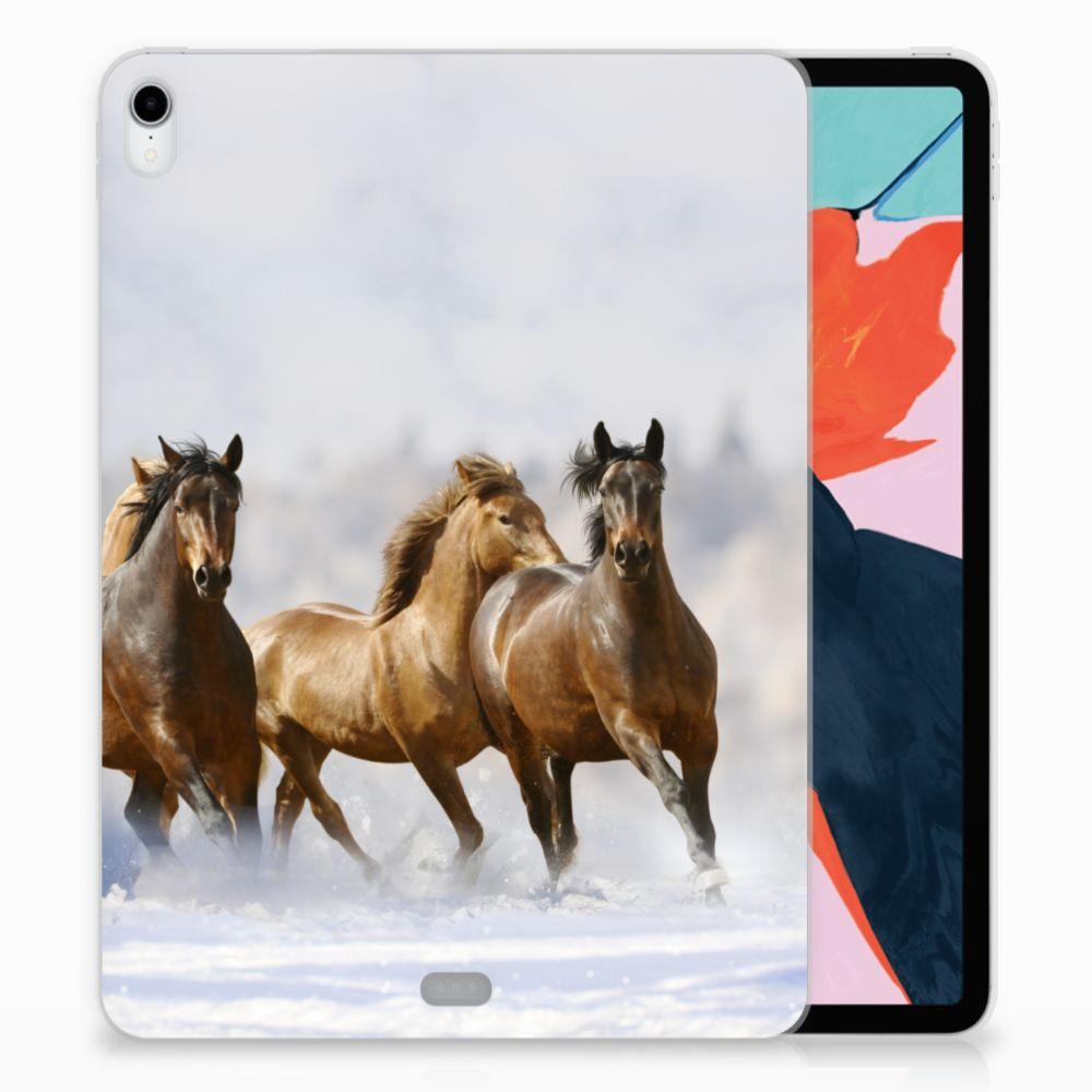 Apple iPad Pro 11 inch (2018) Uniek TPU Hoesje Paarden