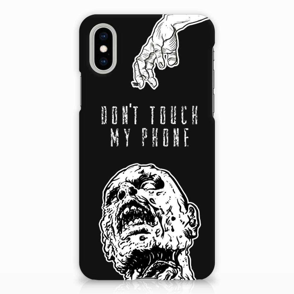 Apple iPhone X | Xs Uniek Hardcase Hoesje Zombie