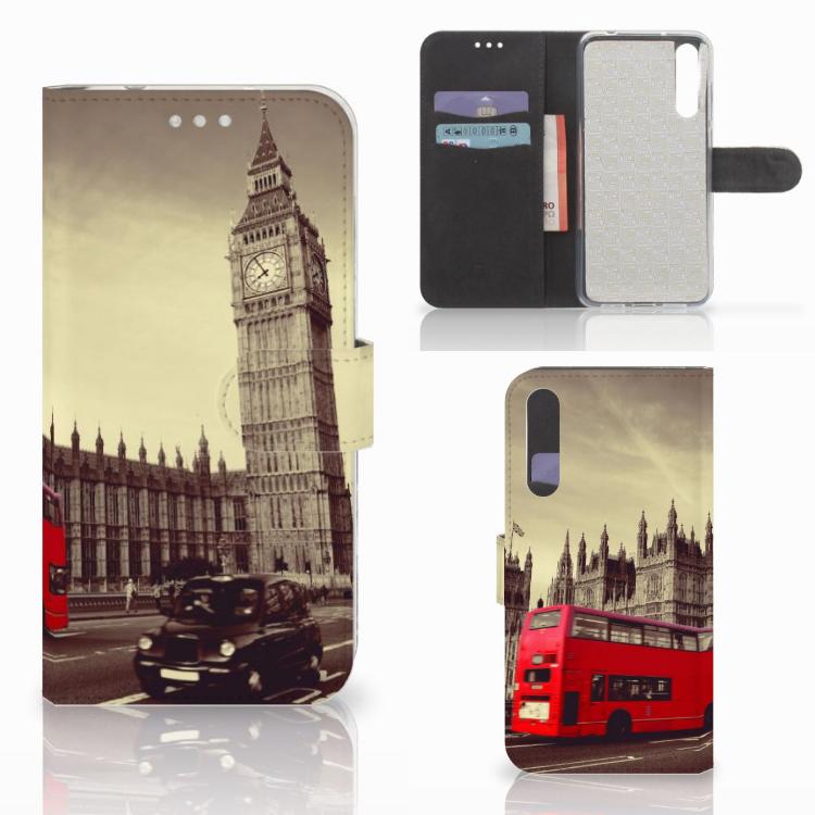 Huawei P20 Pro Flip Cover Londen