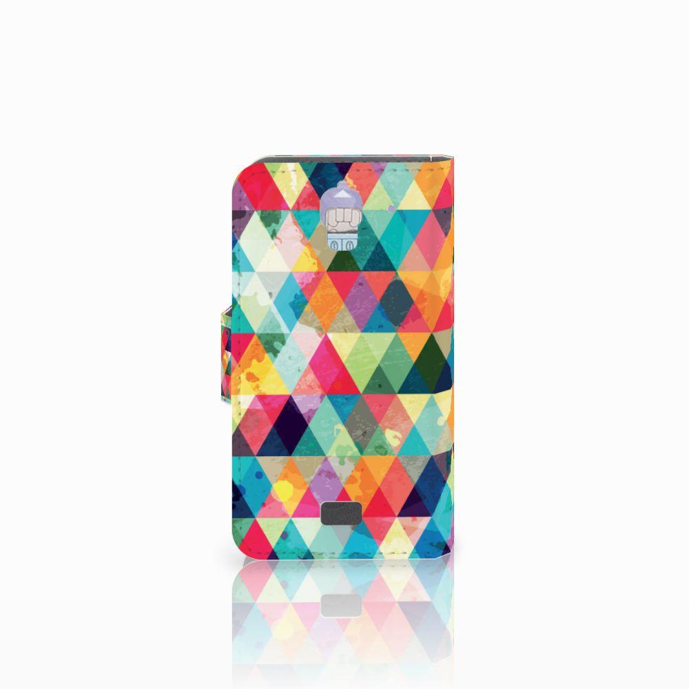 Huawei Y360 Telefoon Hoesje Geruit