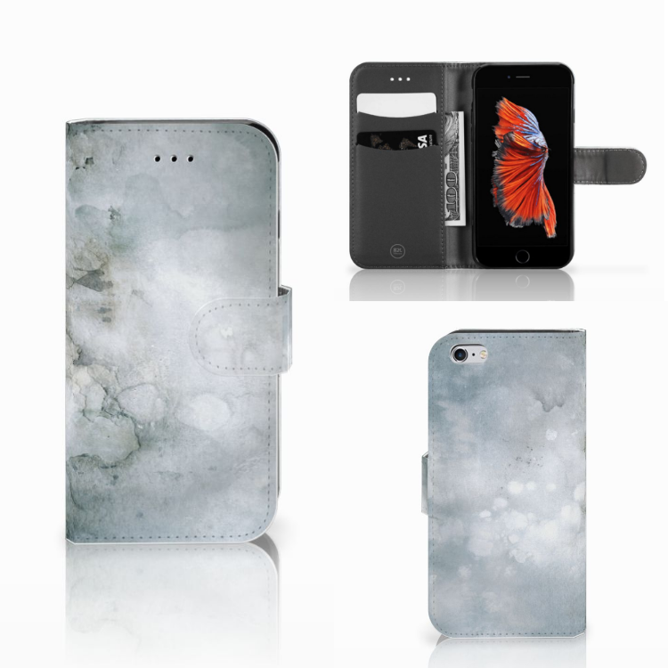Hoesje Apple iPhone 6 | 6s Painting Grey