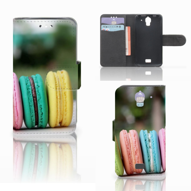 Huawei Y360 Book Cover Macarons