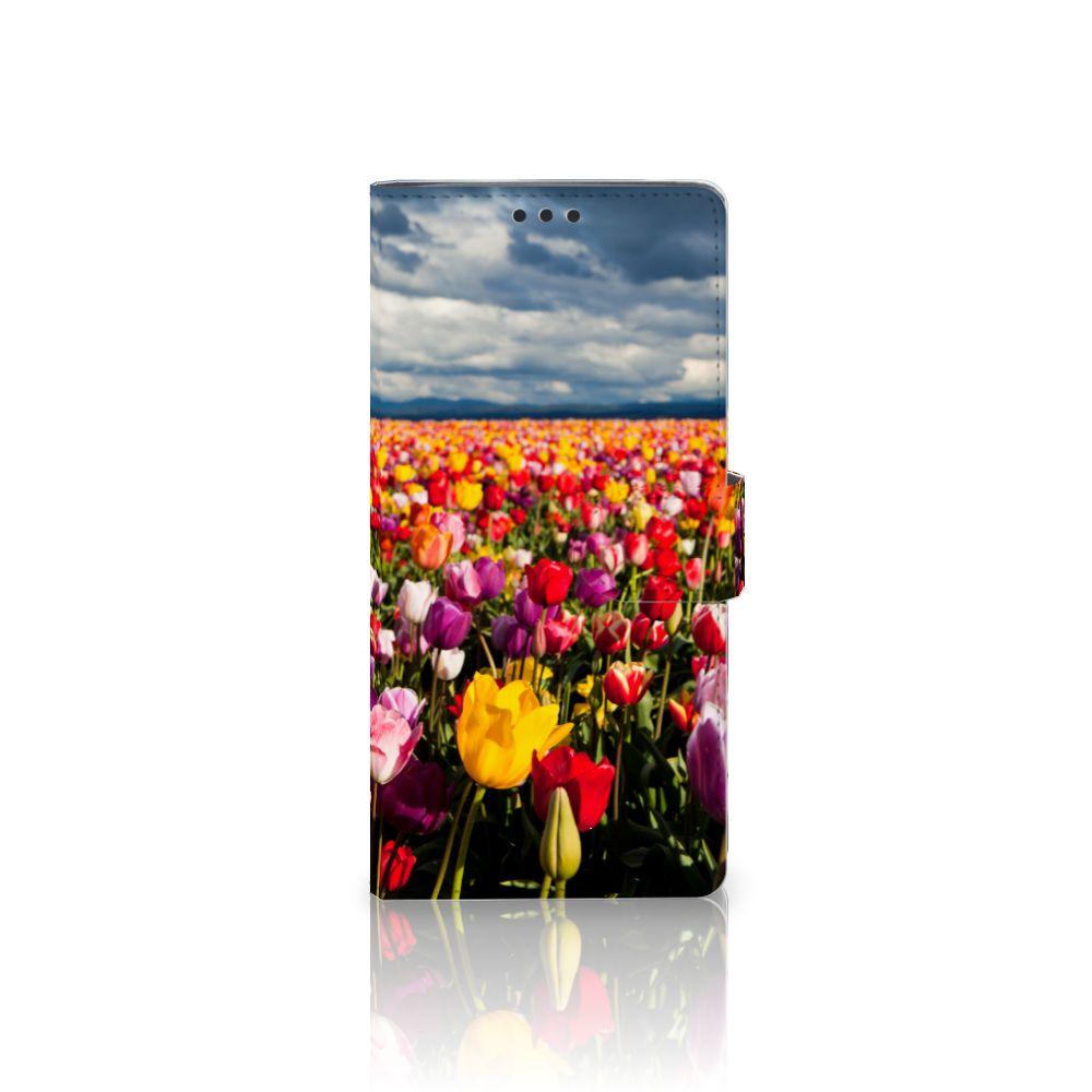 Sony Xperia XA Ultra Uniek Boekhoesje Tulpen
