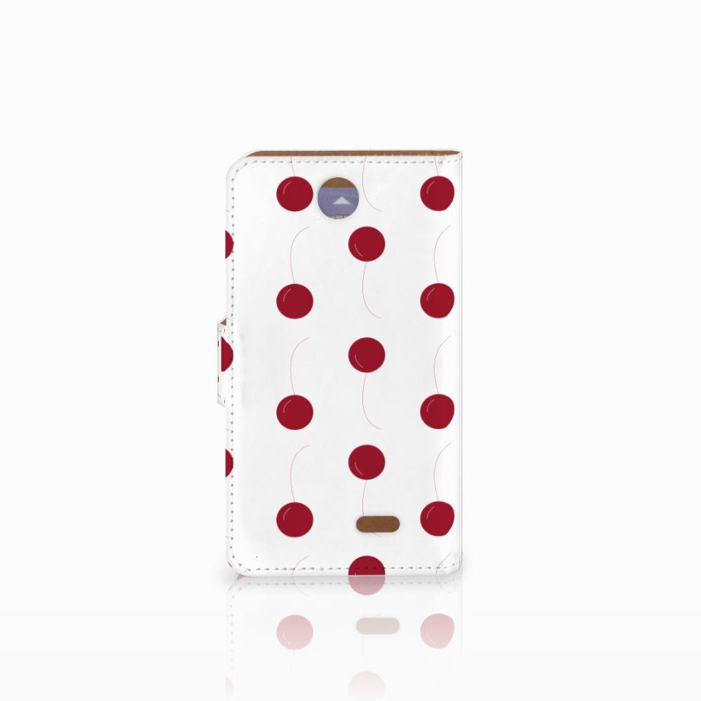 HTC Desire 310 Book Cover Cherries