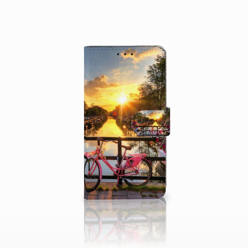Huawei Honor 6X Uniek Boekhoesje Amsterdamse Grachten