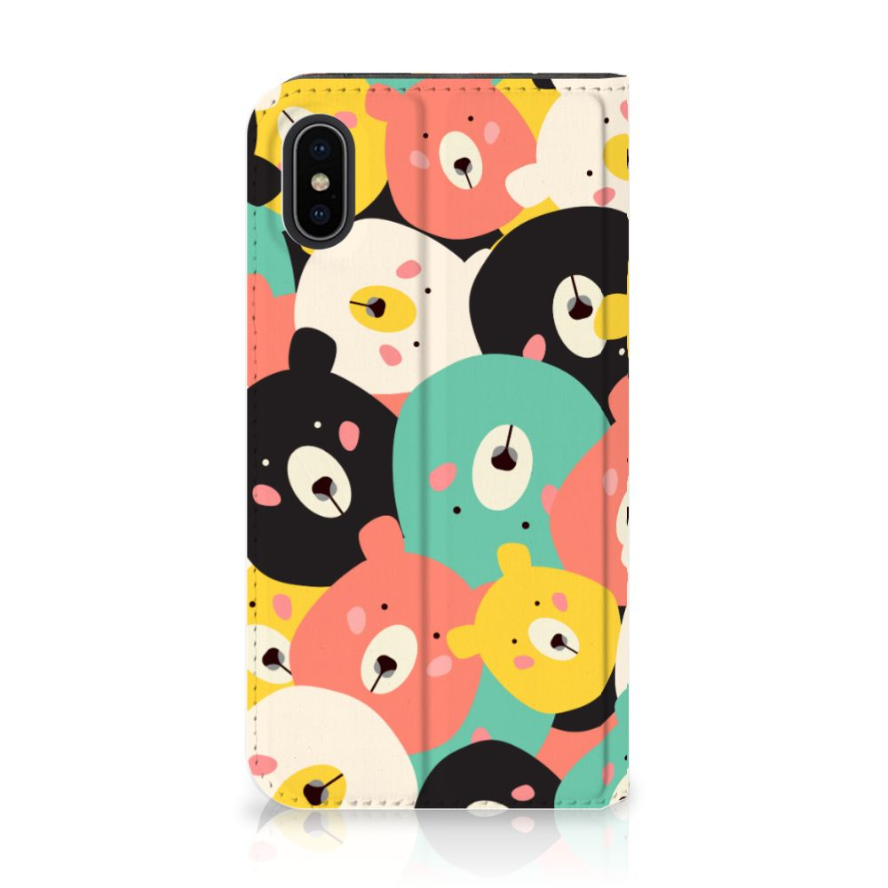 Apple iPhone X | Xs Uniek Standcase Hoesje Bears