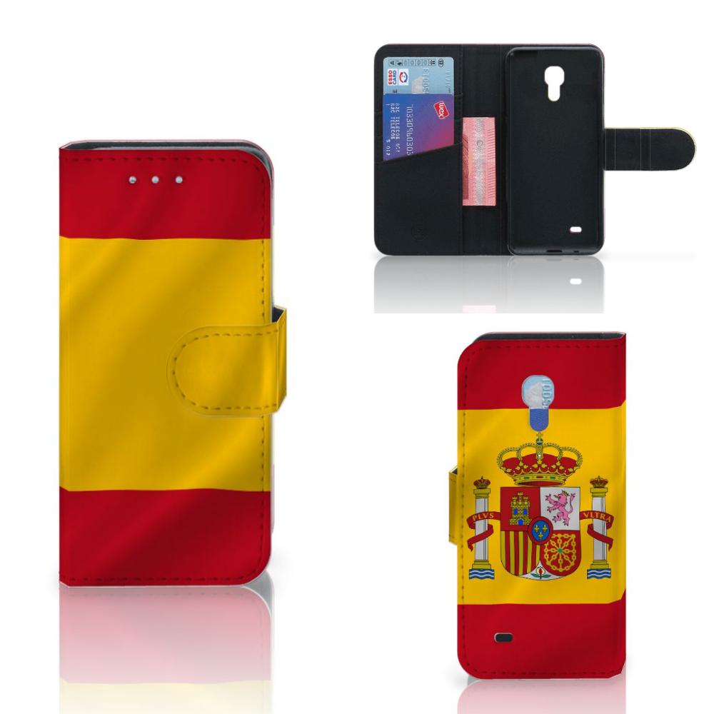 Samsung Galaxy S4 Mini i9190 Bookstyle Case Spanje