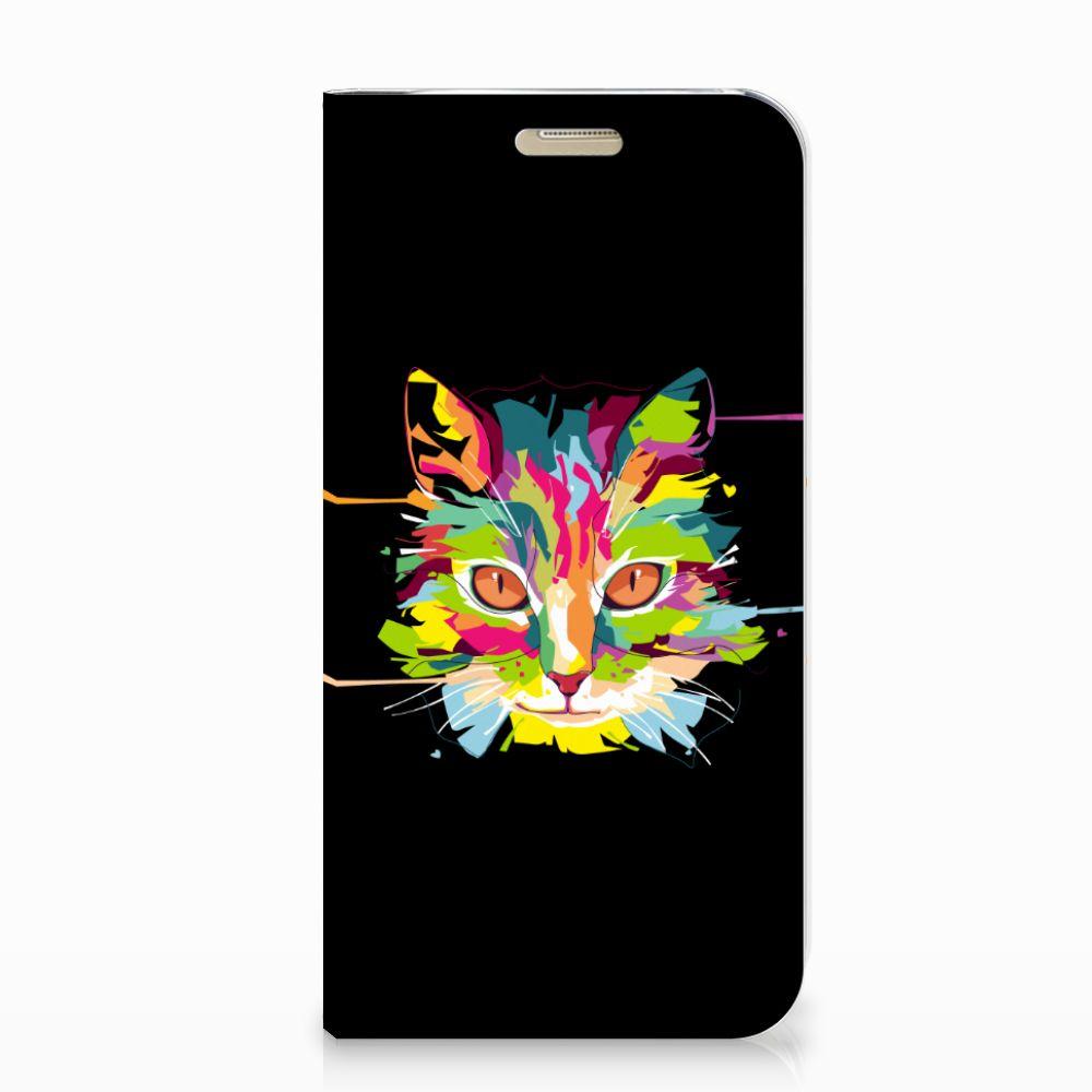 Samsung Galaxy A3 2017 Magnet Case Cat Color