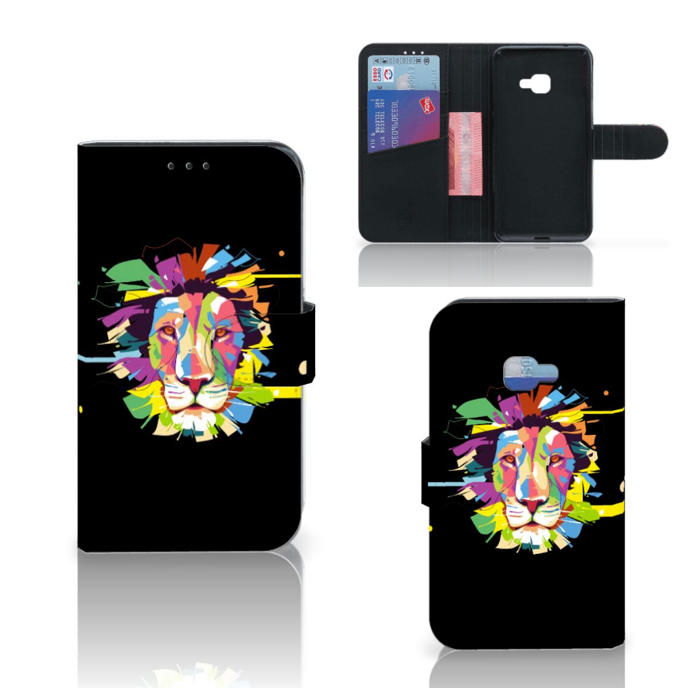 Samsung Galaxy Xcover 4 | Xcover 4s Leuk Hoesje Lion Color