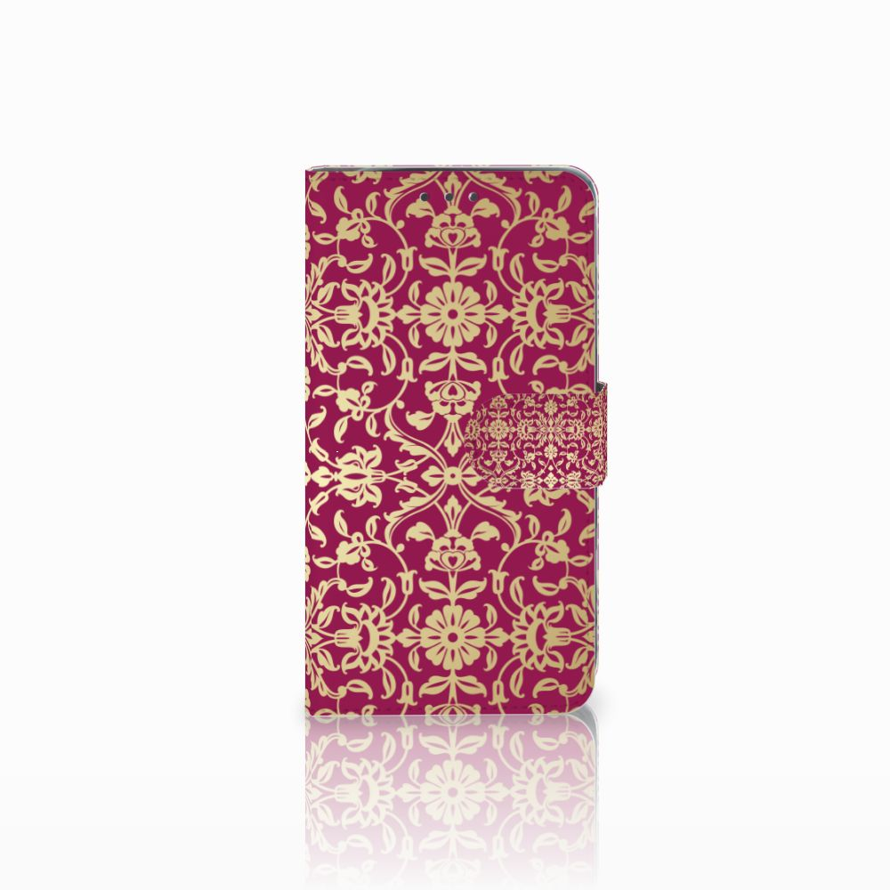 Motorola Moto G5S Plus Boekhoesje Design Barok Pink