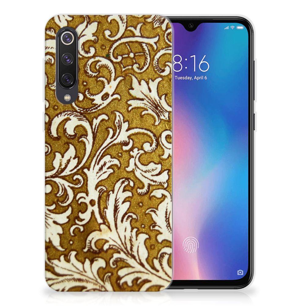 Siliconen Hoesje Xiaomi Mi 9 SE Barok Goud