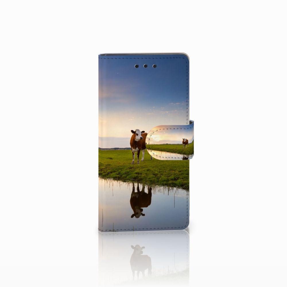 Sony Xperia Z5 Compact Boekhoesje Design Koe