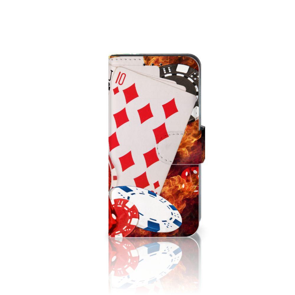 Motorola Moto G4 Play Uniek Boekhoesje Casino