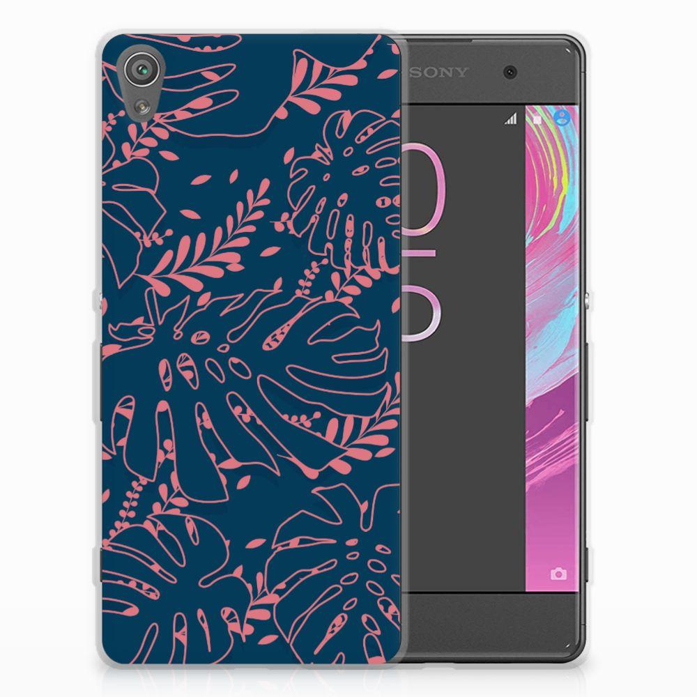 Sony Xperia XA | XA Dual TPU Hoesje Design Palm Leaves