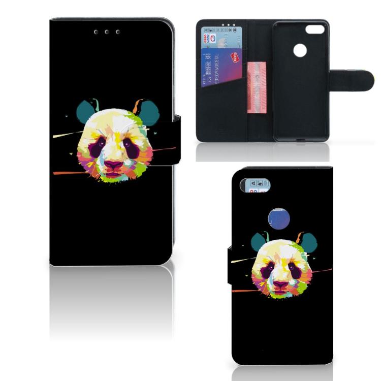 Motorola Moto E6 Play Leuk Hoesje Panda Color