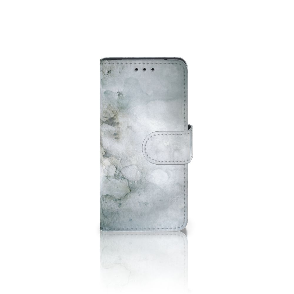 Hoesje Samsung Galaxy S5 Mini Painting Grey