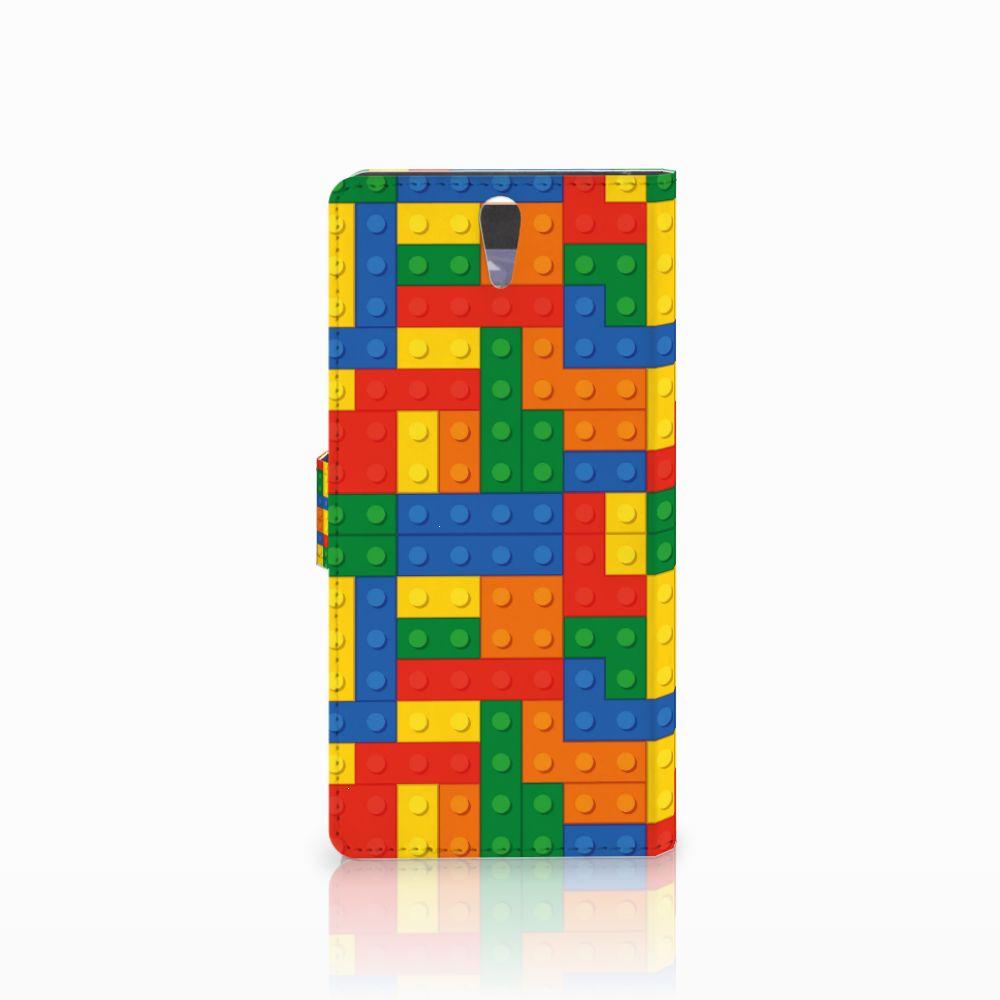 Sony Xperia C5 Ultra Telefoon Hoesje Blokken