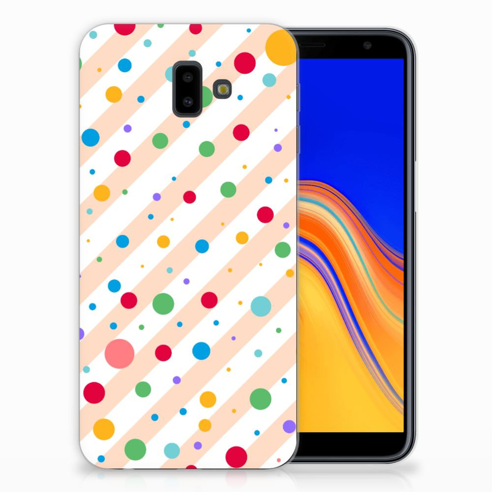 Samsung Galaxy J6 Plus (2018) TPU Hoesje Design Dots