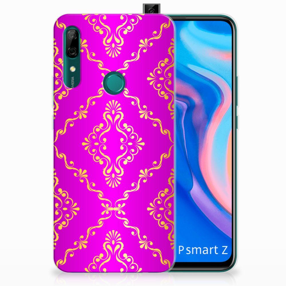 Siliconen Hoesje Huawei P Smart Z Barok Roze