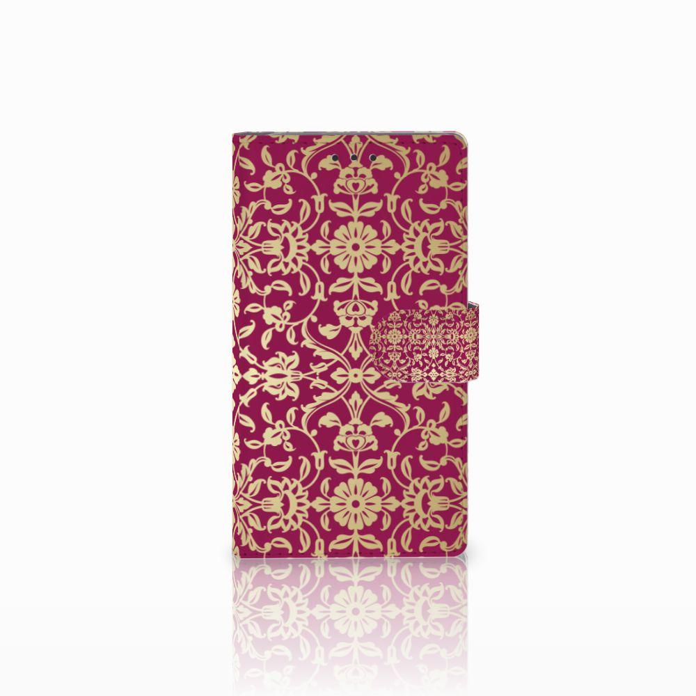 Samsung Galaxy Note 3 Boekhoesje Design Barok Pink