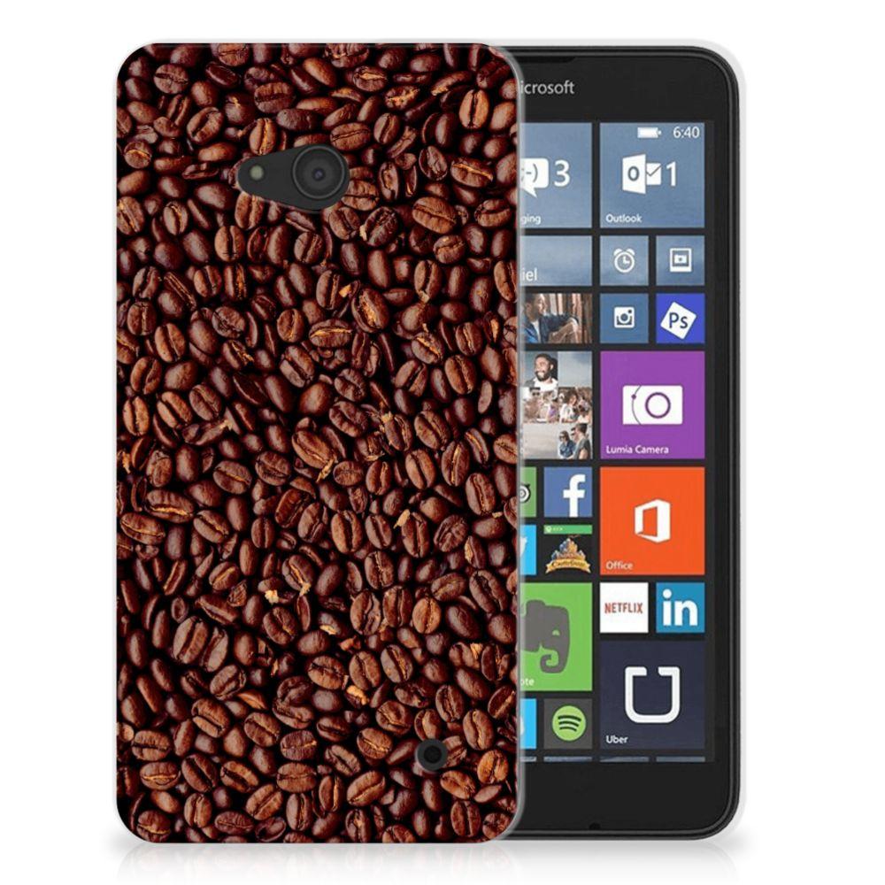 Microsoft Lumia 640 Siliconen Case Koffiebonen