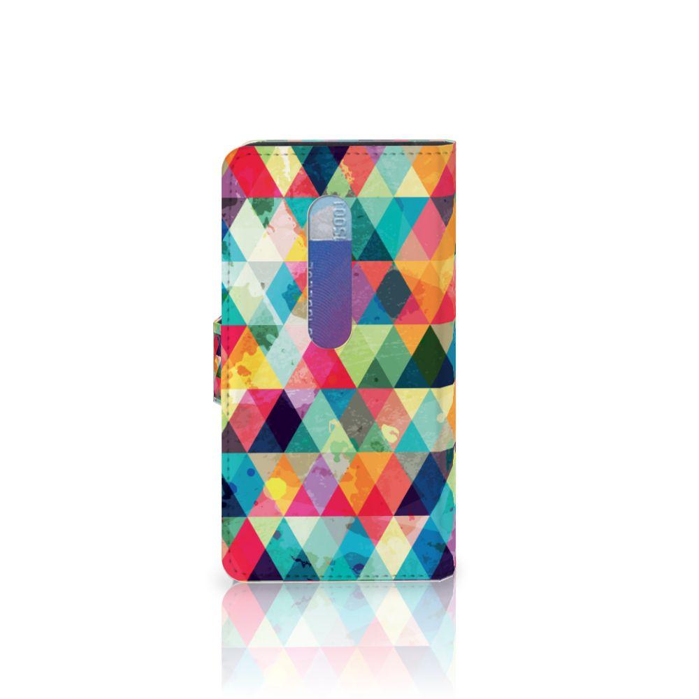 Motorola Moto G 3e Generatie Telefoon Hoesje Geruit