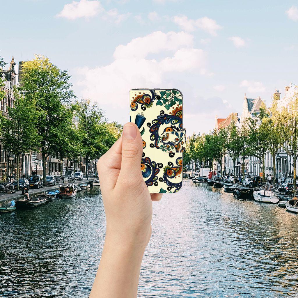 Apple iPhone 5 | 5s | SE Boekhoesje Design Barok Flower