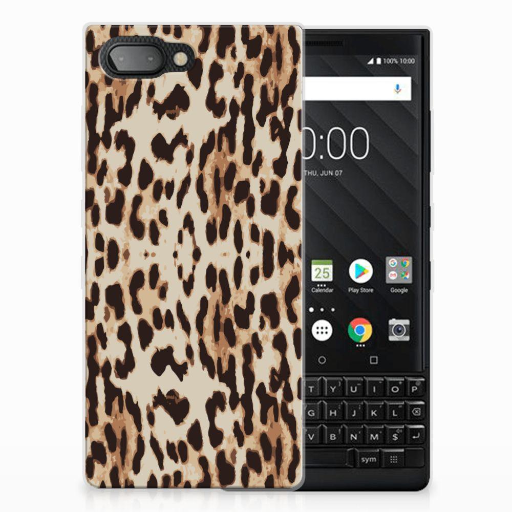 BlackBerry Key2 Leuk Hoesje Leopard