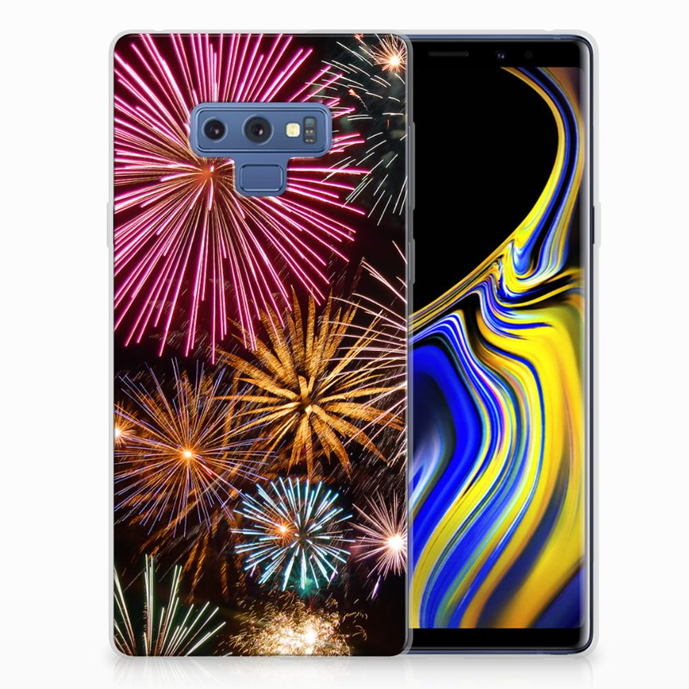 Samsung Galaxy Note 9 Silicone Back Cover Vuurwerk